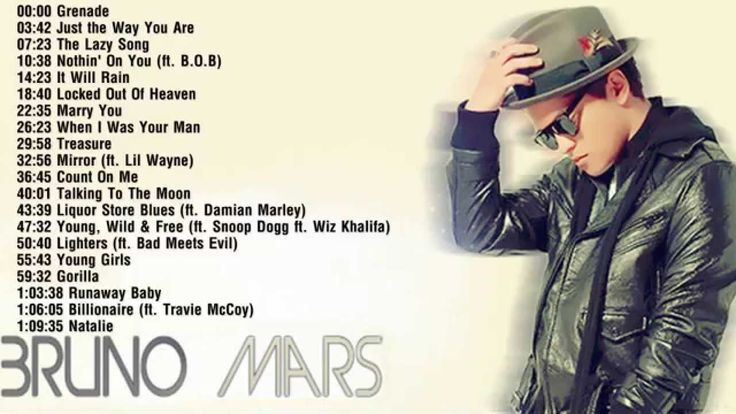 Bruno Mars - Best Songs of Bruno Mars || Bruno Mars's Greatest Hits