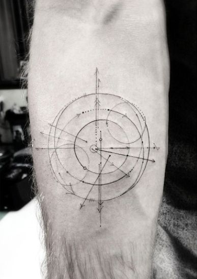 Design by Dr Woo. COMPASS ON BORDER ADD IN IN GOLD SOME OF THESE ASPECTS