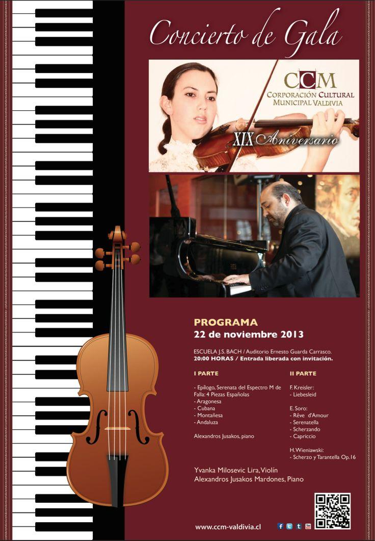 Afiche Aniversario CCM