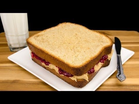Giant Peanut Butter and Jelly Sandwich Cake from Cookies Cupcakes and ...