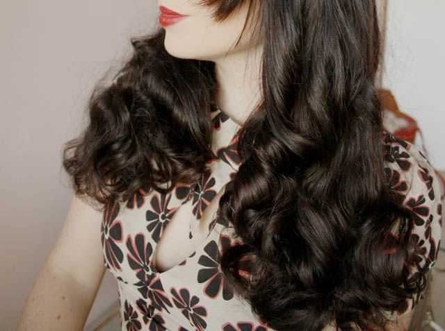 How-to rag curls, and I love her blog