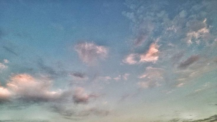 Watercolors. #sky #clouds #dusk #sunset #evening
