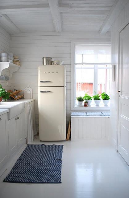 Dags att slita ut köksgolvet av plast kanske???