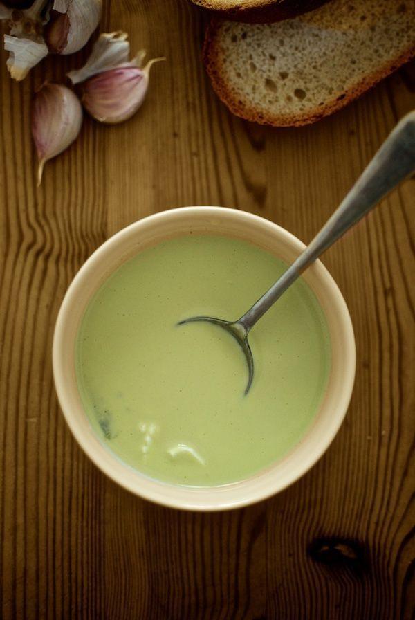Gazpacho de espárragos de Pepekitchen, para el blog 'A tu Gusto' de superSol. La mejor gastronomía :)