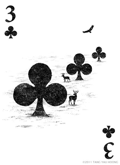 This is a series of fun/ creative illustrations of my different interpretations on playing cards.