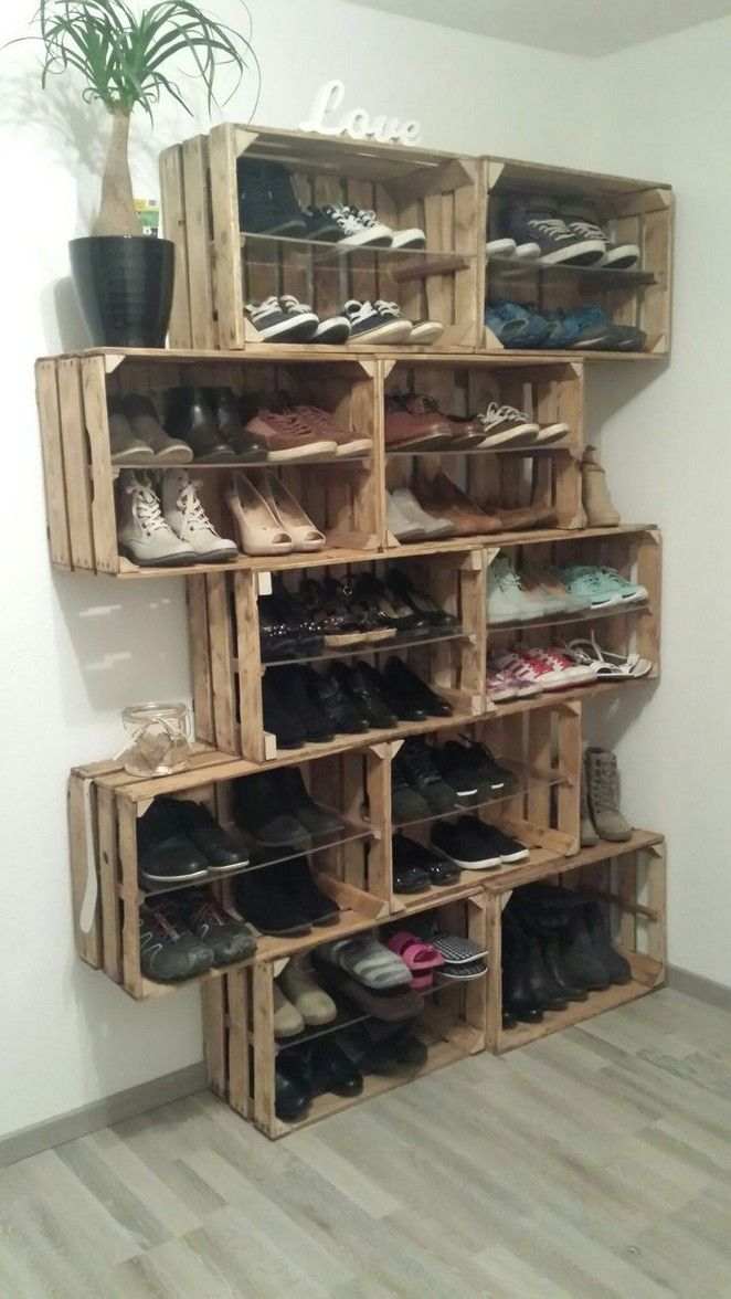 Fabulous Diy Ideas To Organize Shoes 00009 Ideias De Decoracao