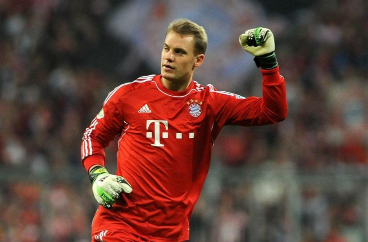 Manuel Neuer. Allemand, 27 ans. Gardien de but du Bayern Munich (ALL). (L'Equipe)