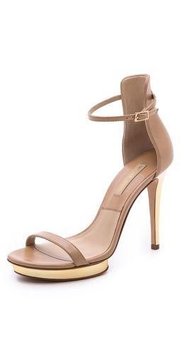Michael Kors Collection Doris Heeled Sandals | SHOPBOP