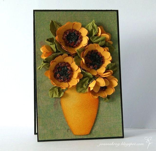 Flores de Papel. GIRASOLES (21) (640x622, 222Kb)