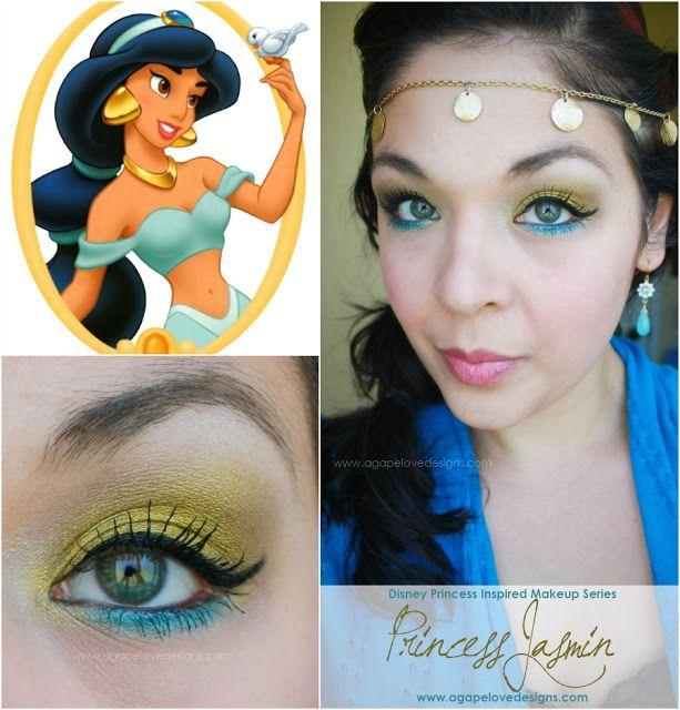 Princess Tiana Makeup: 17 Best Images About Eye Makeup On Pinterest