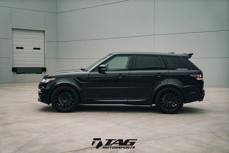 """15' Range Rover Sport on 22"""" Vossen VFS2 Wheels - Range Rover - Gallery"""