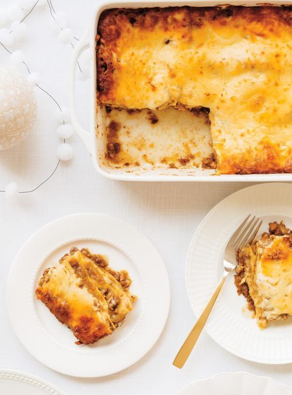 Recette de Ricardo de lasagne-tourtière