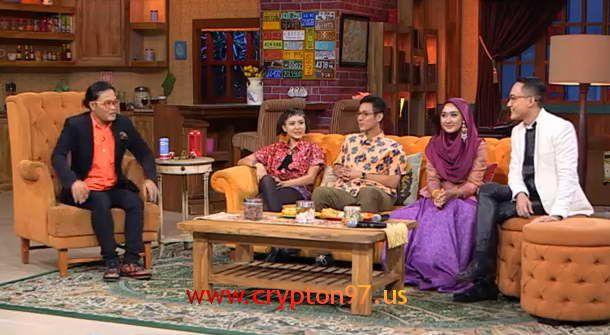 Poppy Sovia, Junior Liem, Dian Pelangi dan Barli Asmara bintang tamu di Ini Talkshow selasa 9 desember 2014