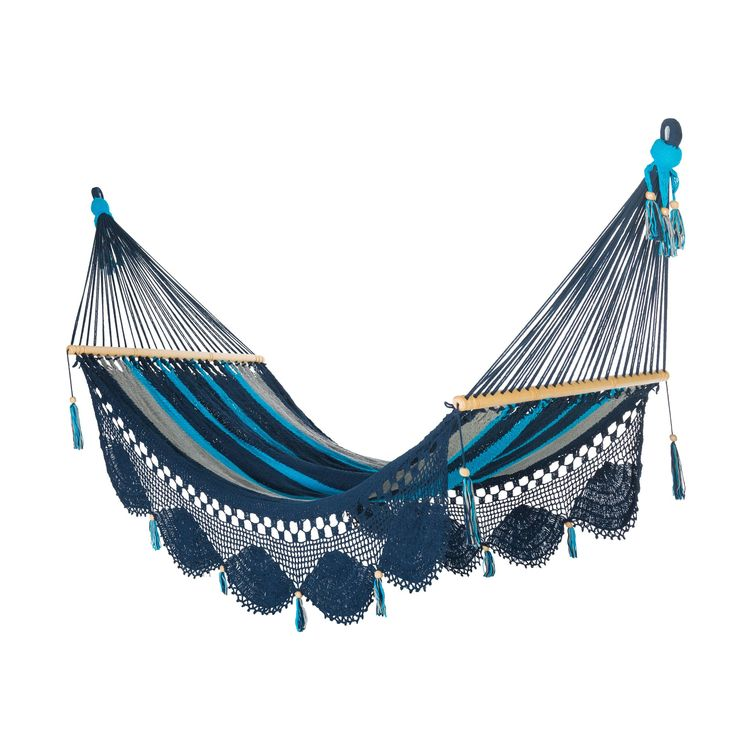 Deluxe Mayan Hammock with Spreader - Luna