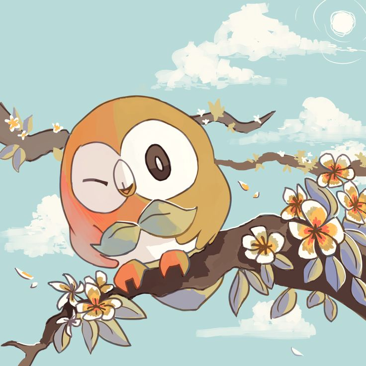 Rowlet, Pokemon Sun and Moon starter
