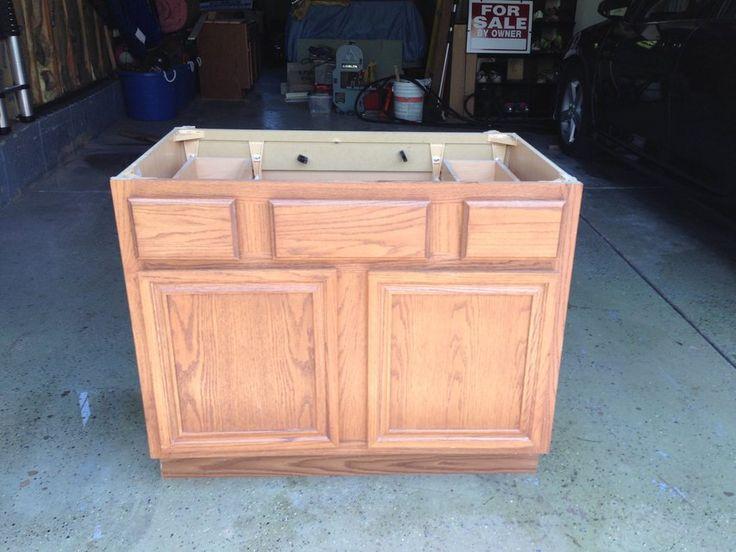 "Nice oak Vanity for sale,  36"" ,  renovating Bathroom 30 obo."
