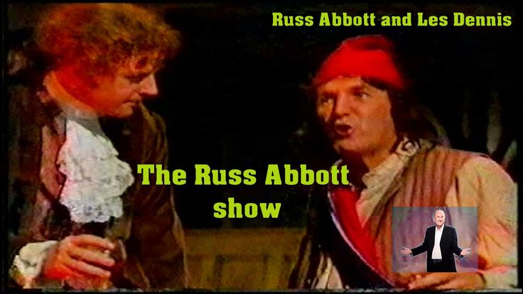 RUSS ABBOT AND LES DENNIS PIRATE SKETCH