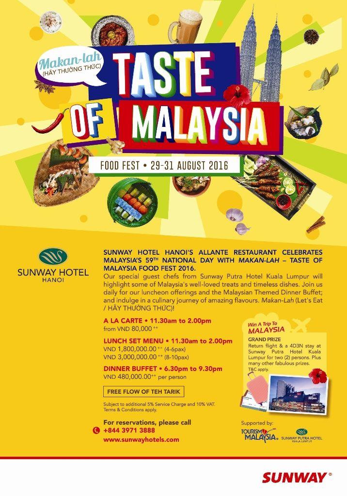 Penang Food Festival August