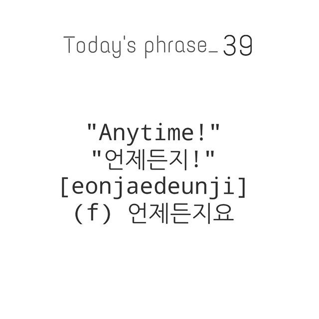 #Learn #Korean