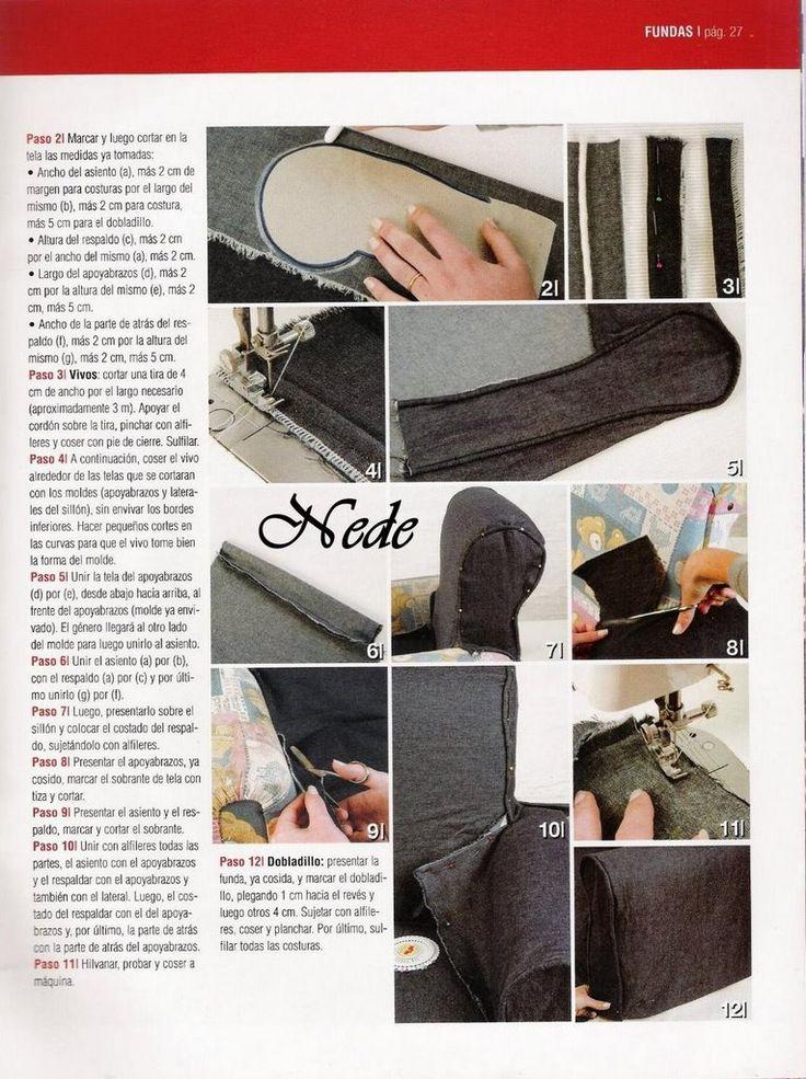 Mejores 154 im genes de coser sofa silla sillon sala - Artesanos del sofa ...