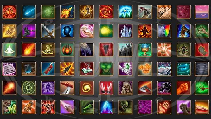 buff debuff icons - Google Search