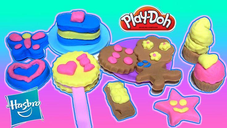 PlayDoh Sweet Shoppe Candy Jar Set  Play Food Desserts Cookies Candies Treats Play-doh Fun unboxing toy From Rainbow Toys TV https://youtu.be/1x4ZAVJ0wKg?list=PLDogJfx3GEGLP5wPCY1no87EidOppjZva