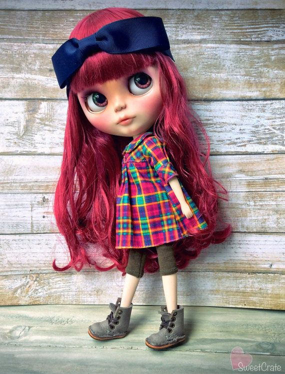 Autumn Custom Blythe Doll by SweetCrate 99 by SweetCrate on Etsy