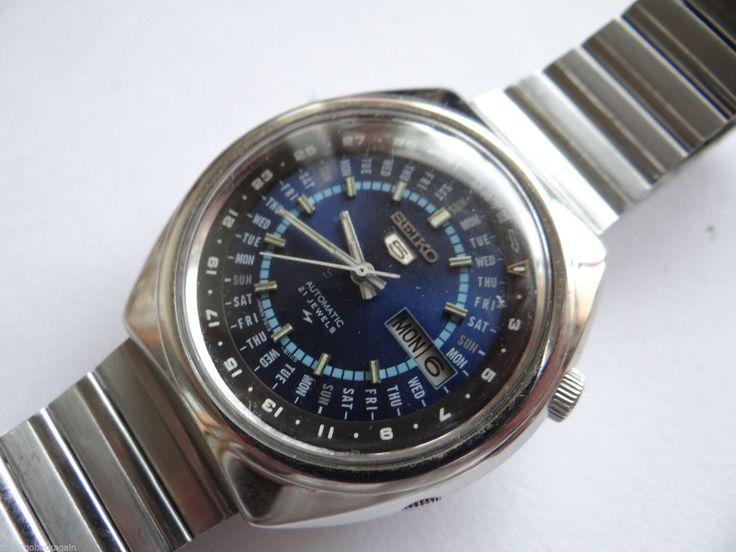 Seiko Perpetual Calendar Vintage : Rare vintage seiko perpetual calendar automatic watch