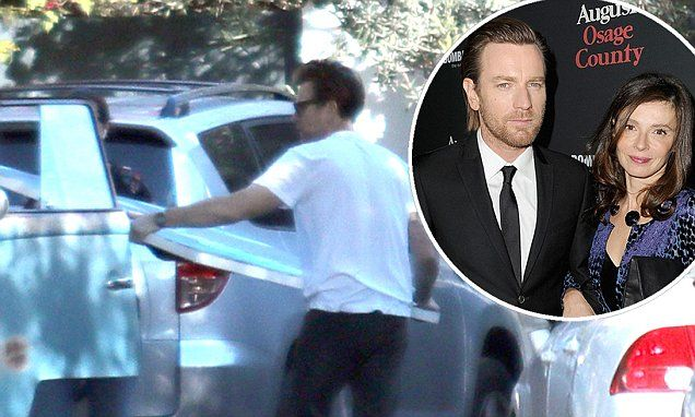 Ewan McGregor 'removes' his artworks from the family home