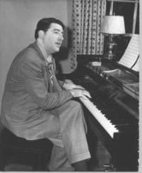 "Meredith Willson, composer of the Broadway musical ""The Music Man,"" was born in Mason City, Iowa http://www.visitmasoncityiowa.com/index.php/meredith-willson"