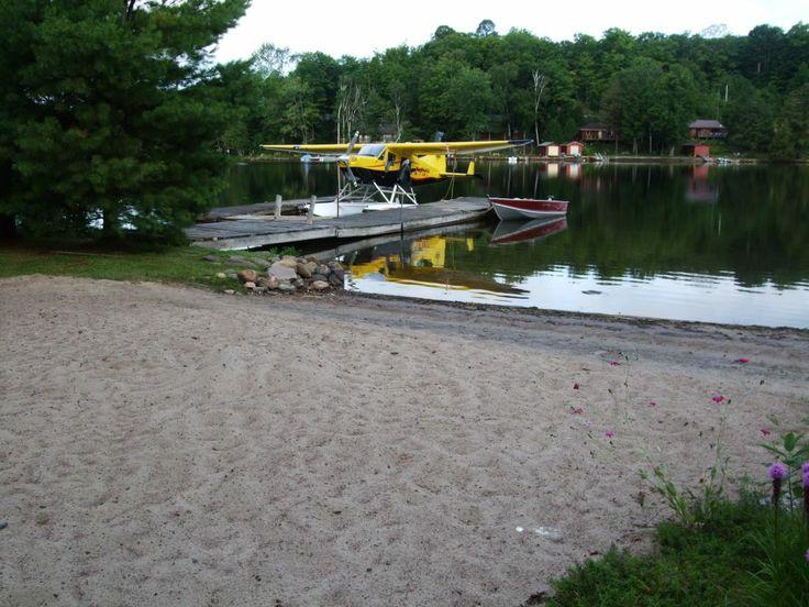 """Sunset Sands"" on Horseshoe Lake in Minden, Ontario."