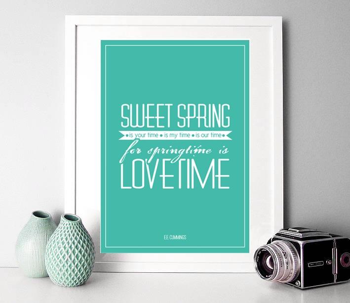 Cherry & Cherry PRINTS - Sweet Spring Cod produs: D-007 Disponibil în...