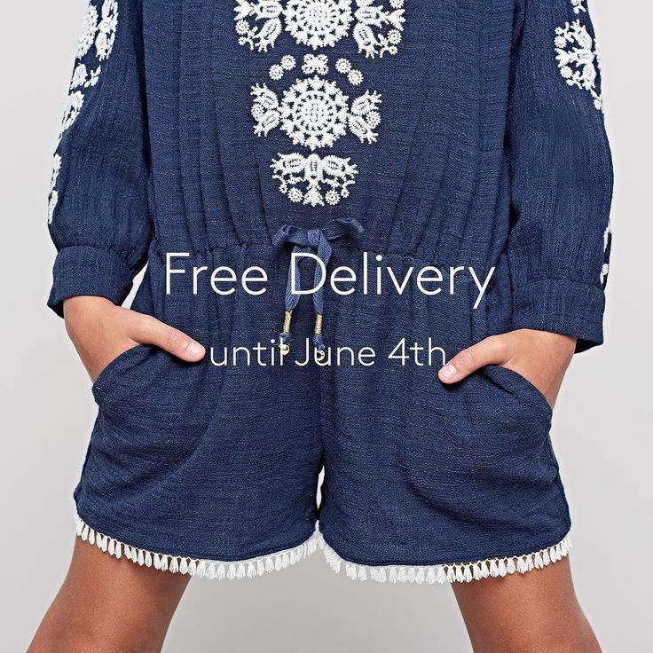 Relax and enjoy the long weekend half term break and get Free uk standard delivery on all purchases until June 4th.  #freedelivery #outsidethelines #girlsfashion #ss17 #herecomesthesun