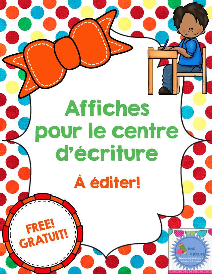FREE/Affiches à éditer