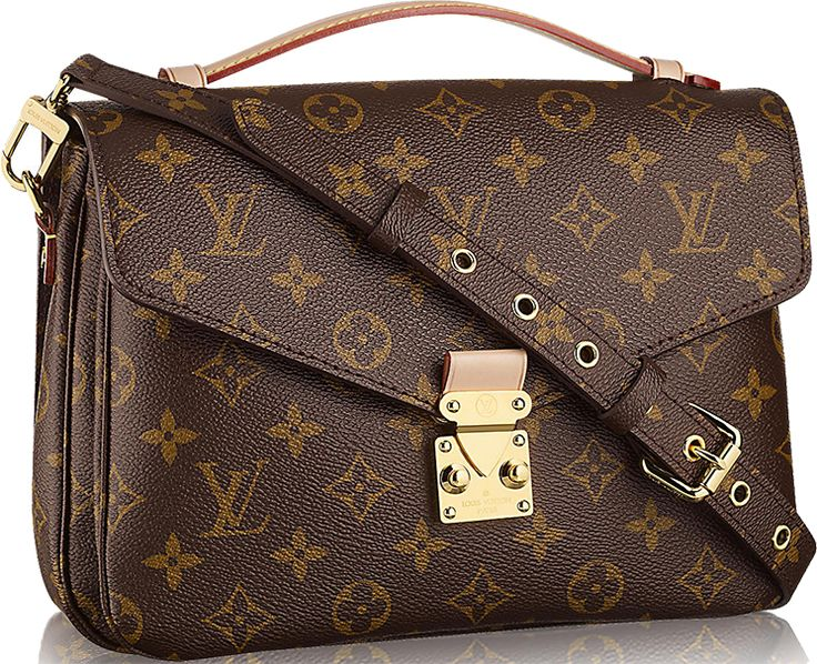 Monogram Canvas never gets old, this print has gone through many recessions and depressions – it's time-tested. So please meet the new Louis Vuitton Pochette Metis Bag. This is a beautiful ba…