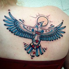 Native American Thunderbird on Pinterest   Thunderbird Tattoo Native ...