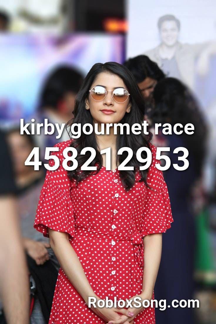 Kirby Gourmet Race Roblox Id Roblox Music Codes In 2020 Roblox Kirby Racing