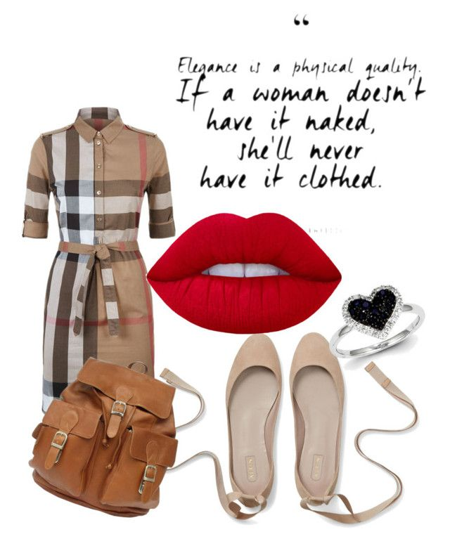 """bdissn"" by oliviasjstad on Polyvore featuring Burberry, Kevin Jewelers and Lime Crime"
