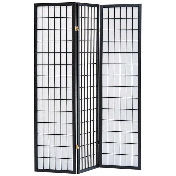 Milton Green Star Sam 70 X 52 3 Panel Room Divider With Rice Paper