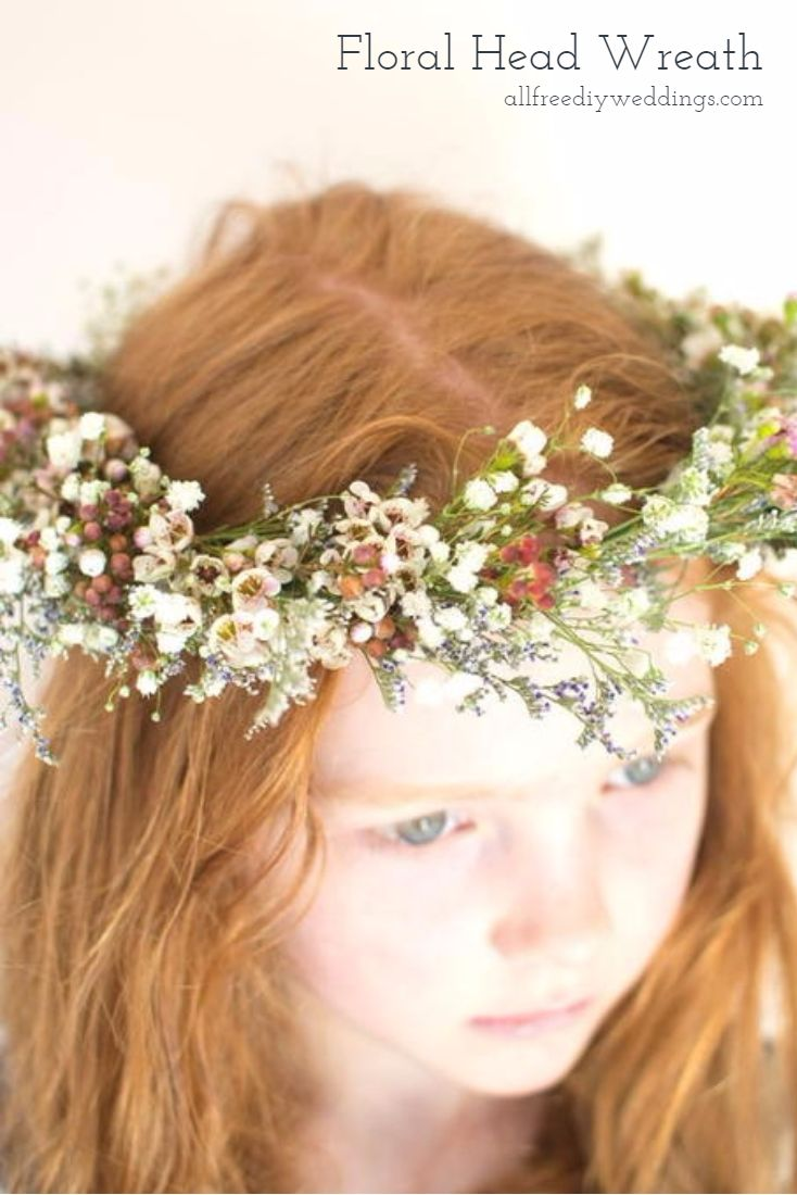 Diy hair accessories for weddings - This Wedding Wreath Is So Fresh For Spring