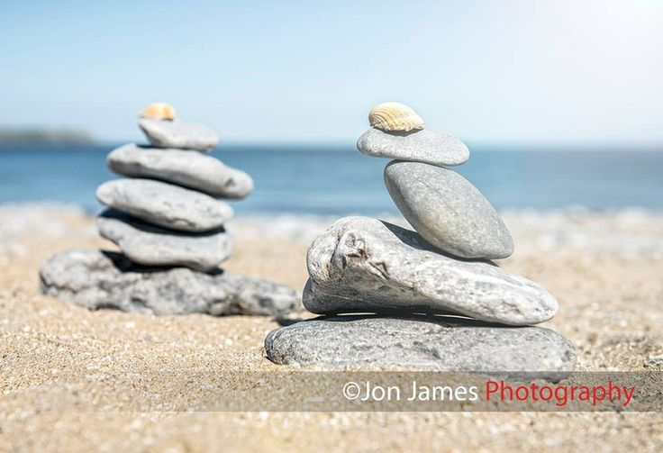 Rock formation art on Oxwich Bay, by Jon James Photography
