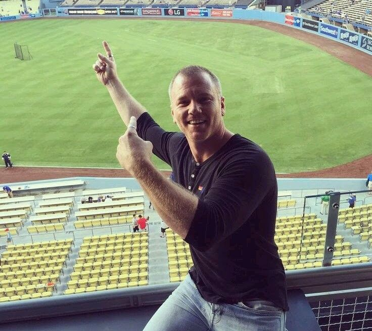 Pin By Robin On Absolutely Amazing Sean Carrigan Go Blue Dodgers Padres