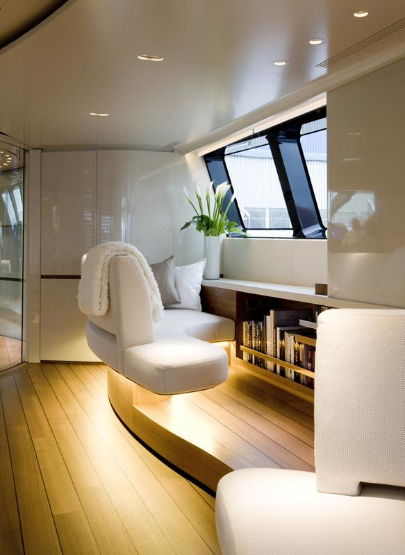 The Challenge In Designing Interior Of A Yacht Is Resolution Complex Spatial And Functional Demands While Creating Sense Simplicity