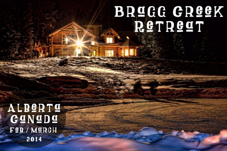 We are THRILLED to be launching our new location in Bragg Creek Alberta.  Join us in 2014 and PUSH PAUSE at the Folk Tree Lodge.