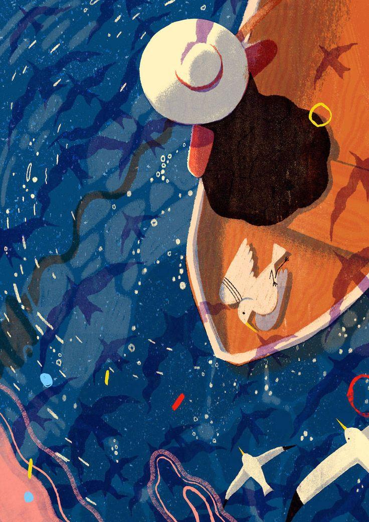 Lisk Feng Illustrations – ألمى alma
