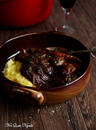 Luscious Daube Beef Cheeks in the Slow Cooker
