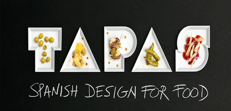 """Tapas. Spanish design for food"" - http://www.absolutvalencia.com/tapas-spanish-design-for-food/"