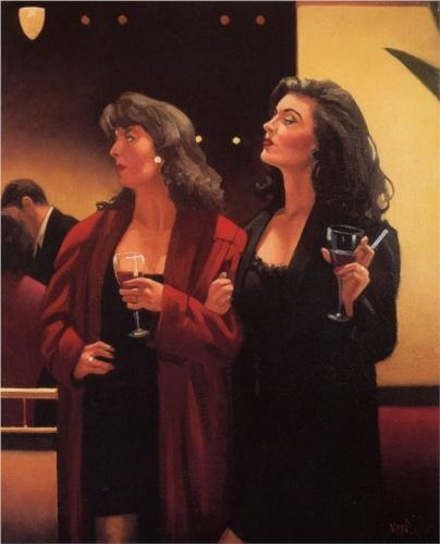 Girls Night - Jack Vettriano