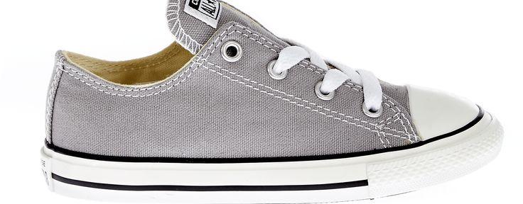 CONVERSE - Βρεφικά παπούτσια Chuck Taylor γκρι #joy #style #fashion
