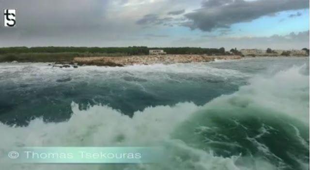 EPIRUS TV NEWS: [HΠΕΙΡΟΣ]Εντυπωσιακό βίντεο από τα τεράστια κύματα...